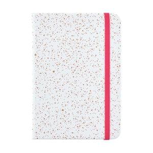 Bledě modrý zápisník o formátu A6 Busy B, 96 stran