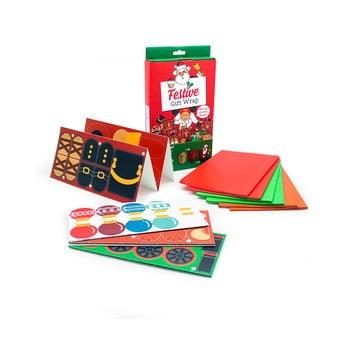 Set pentru împachetat cadouri de Crăciun Luckies of London imagine
