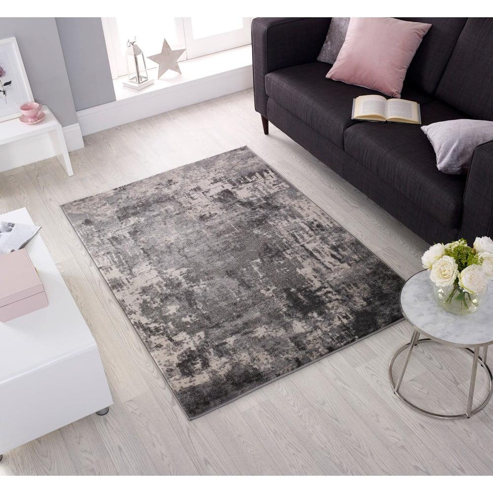 Produktové foto Světle šedý koberec Flair Rugs Wonderlust, 80 x 150 cm
