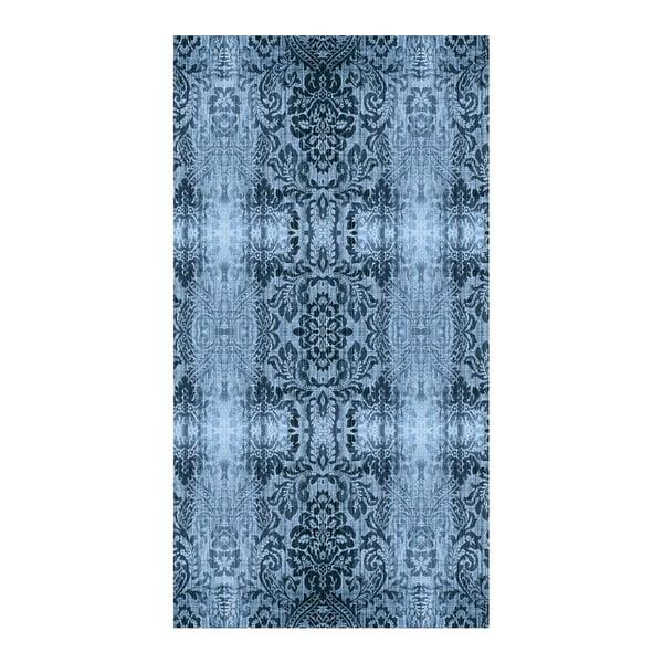 Petrolejový koberec Vitaus Becky,50x80cm