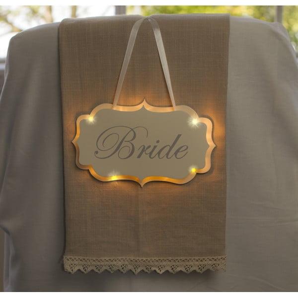 Svatební dekorace s LED světly Bride Hanger
