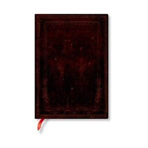 Nelinkovaný zápisník s měkkou vazbou Paperblanks Moroccan, 13x18cm