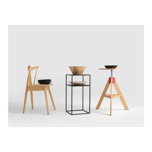 Černý odkládací stolek Custom Form Tensio