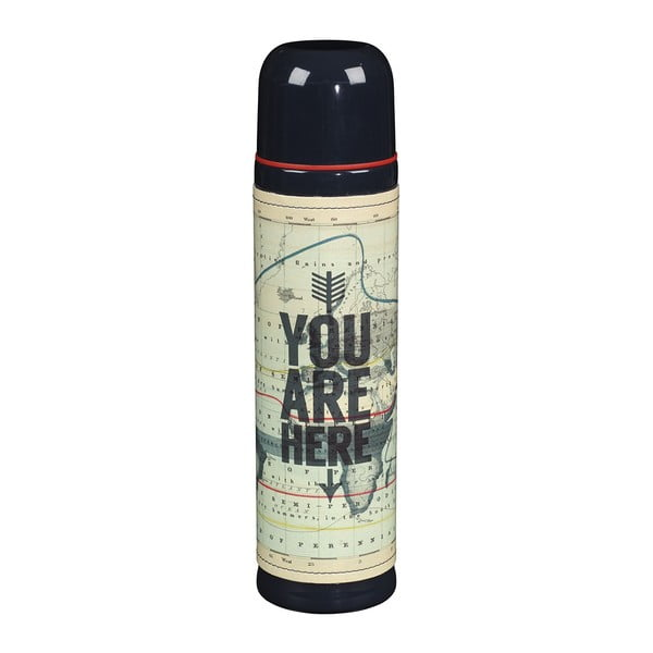 Termoska Cartography You Are Here, 500 ml