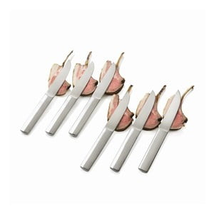 Sada 6 steakových nožů v neoprenovém obalu
