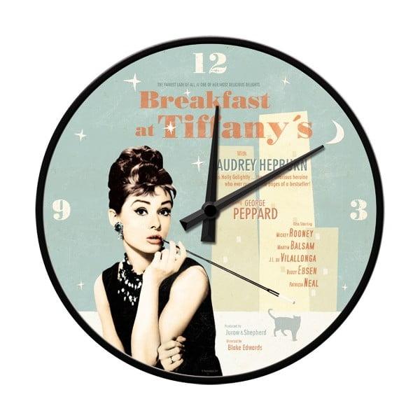Hodiny Breakfast at Tiffany's, 31 cm