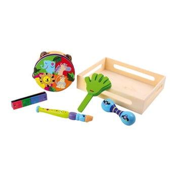 Set instrumente muzicale pentru copii Legler Safari de la Legler