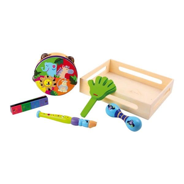 Set instrumente muzicale pentru copii Legler Safari