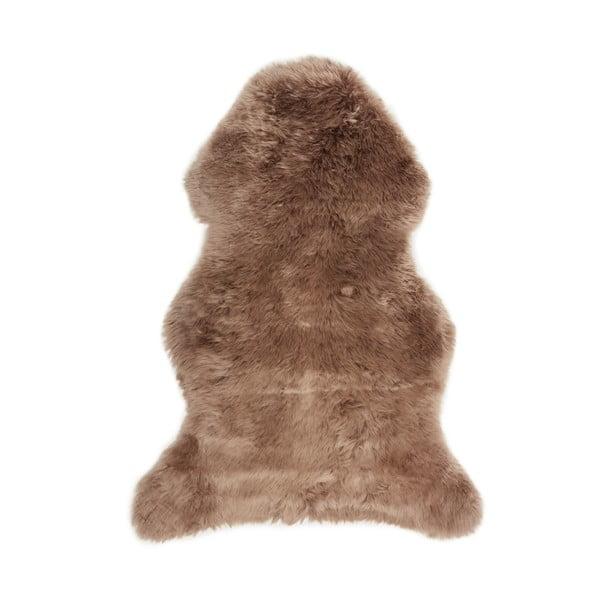 Hnedá ovčia kožušina loomi.design, 60x100cm