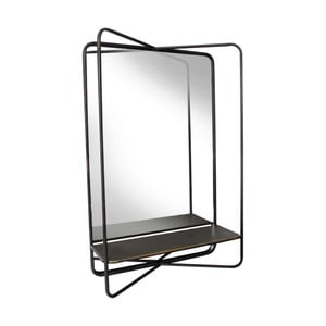 Nástěnné zrcadlo s poličkou Red Cartel Astra