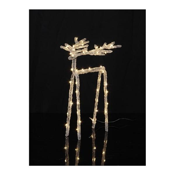 Decorațiune luminoasă cu LED Best Season Deer, înălțime 30 cm