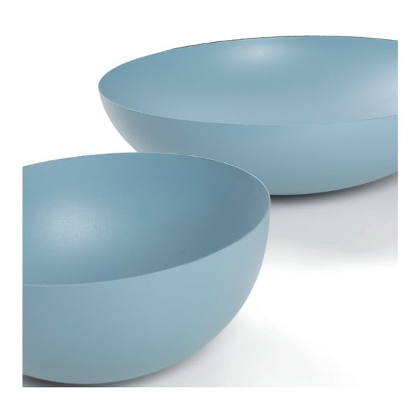 Sada 2 modrých mís La Forma Shar