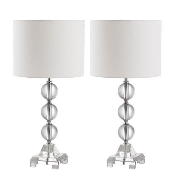 Sada 2 stolních lamp Safavieh Callie