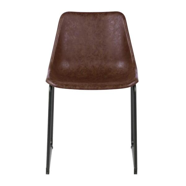 Sada 2 hnědých židlí De Eekhoorn Jet
