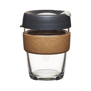 Cană de voiaj KeepCup Brew Cork Edition Press, 340 ml