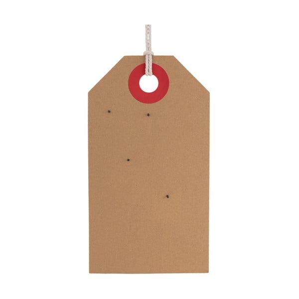 Korková nástěnná tabule s detaily v růžové a červené barvě PT LIVING Memo Board, 60 x 34 cm