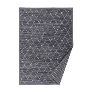 Šedý vzorovaný oboustranný koberec Narma Vao, 140 x 200cm