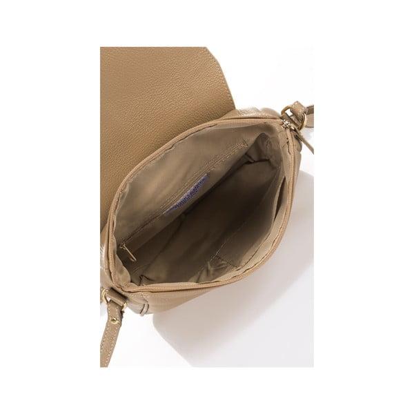 Kožená kabelka Italia 1100, světle hnědá