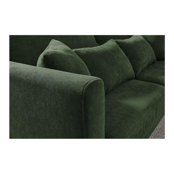 Canapea cu 3 locuri Bobochic Paris Doblo, verde