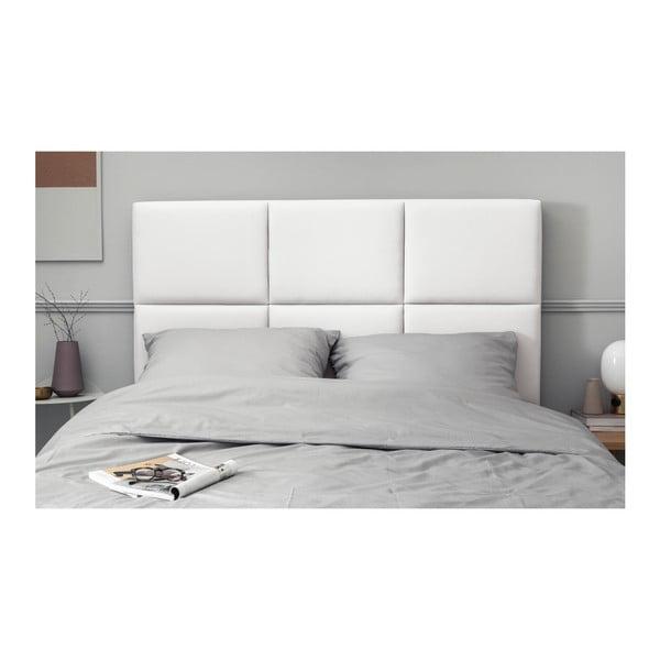 Bílé čalouněné čelo postele THE CLASSIC LIVING Aude, 200x120cm