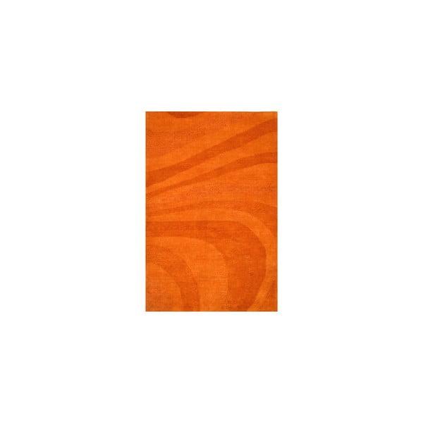 Vlněný koberec Palpa Orange, 90x160 cm