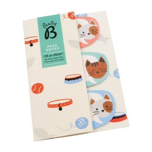 Štítky pro komentáře Busy B Page Notes Cat