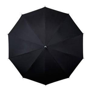 Černý deštník Ambiance Falconetti Bandouliere, ⌀98cm