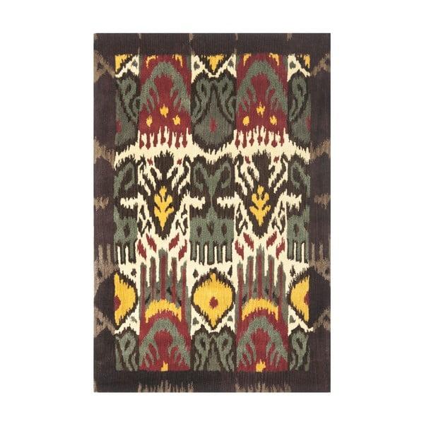 Vlněný koberec Catarina Ikat, 121x182 cm