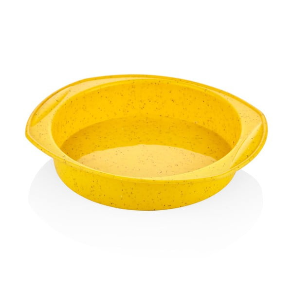 Žlutá silikonová pečící forma The Mia Baton, ⌀ 29 cm