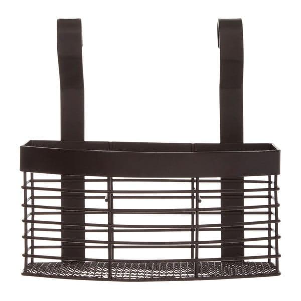 Černý závěsný košík do kuchyně Premier Housewares Sorello