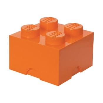 Cutie depozitare LEGO®, portocaliu de la LEGO®