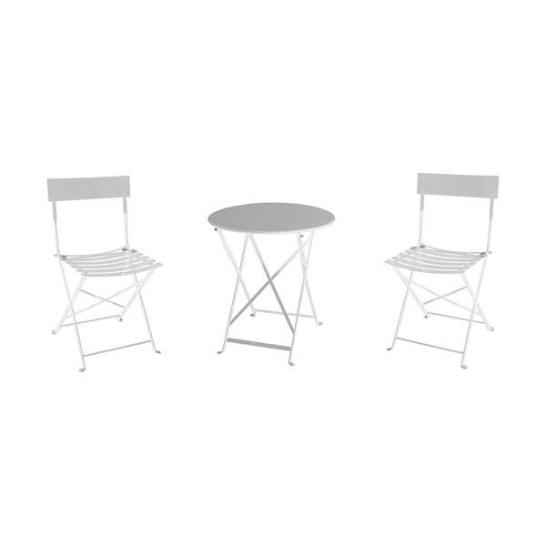 Set mobilier de grădină Resol Tea Time, alb