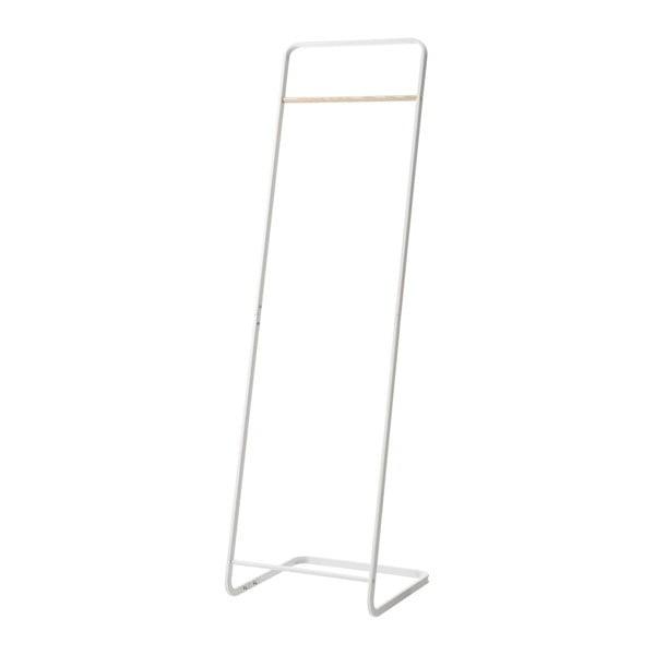 Cuier de podea YAMAZAKI, înălțime 140 cm, alb