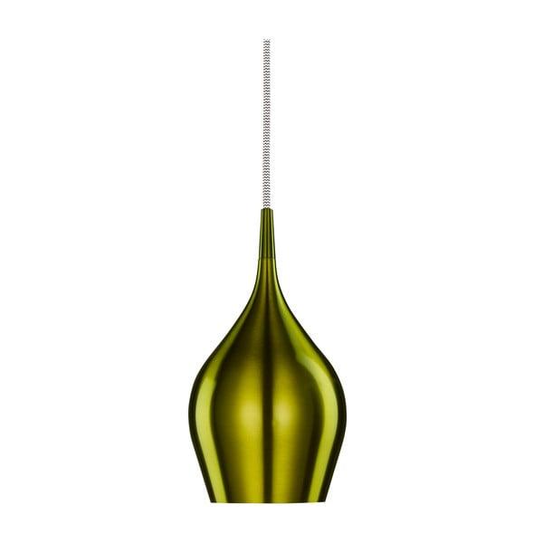 Stropní světlo Searchlight Vibrant, 12 cm, zelená