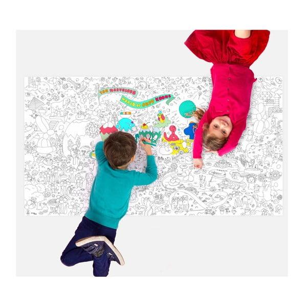 Omalovánka Jeff Koons XXL (180 x 100 cm)