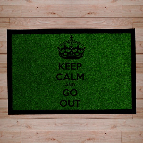 Rohožka Keep Calm and Go Out, 40x60 cm