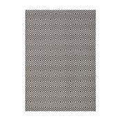 Černý koberec vhodný i na ven bougari Karo, 140x200cm