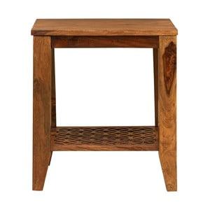 Odkládací stolek z masivního palisandrového dřeva Massive Home Rosie