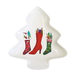 Tavă decorativă cu motive de Crăciun PPD Happy Wintertime