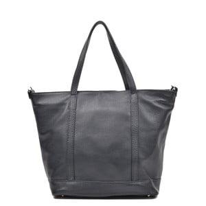 Černá kožená kabelka Mangotti Muriel