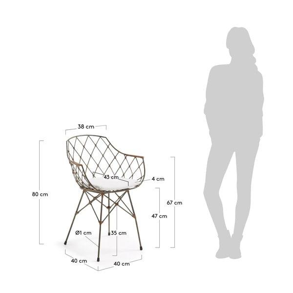 Sada 2 jídelních židlí La Forma Energy