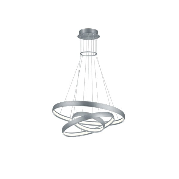 Stropní kulaté LED svítidlo Trio Macau, ø 75 cm