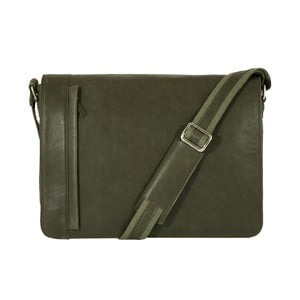 Pánská messenger taška Vintage Green Army