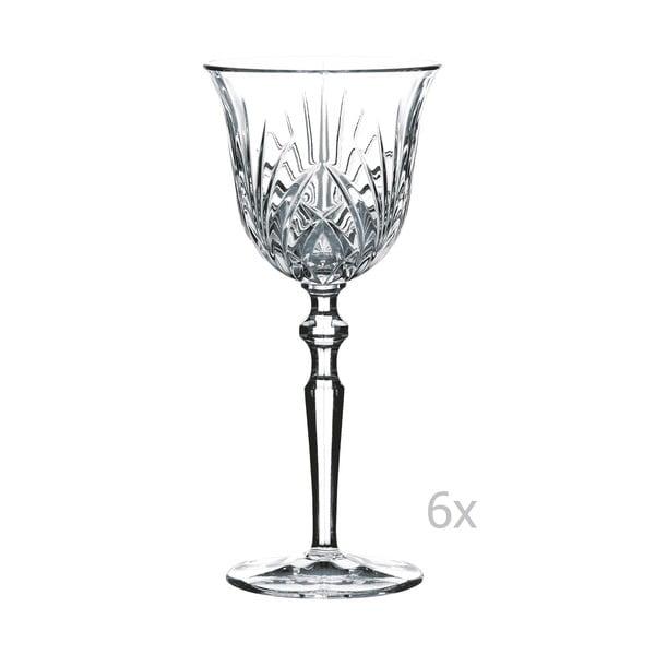 Sada 6 sklenic na bílé víno z křišťálového skla Nachtmann Large White Sine, 213 ml