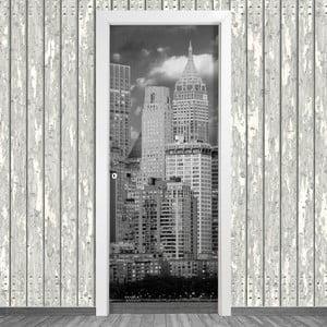 Samolepka na dveře LineArtistica New York Dos, 80 x 215 cm