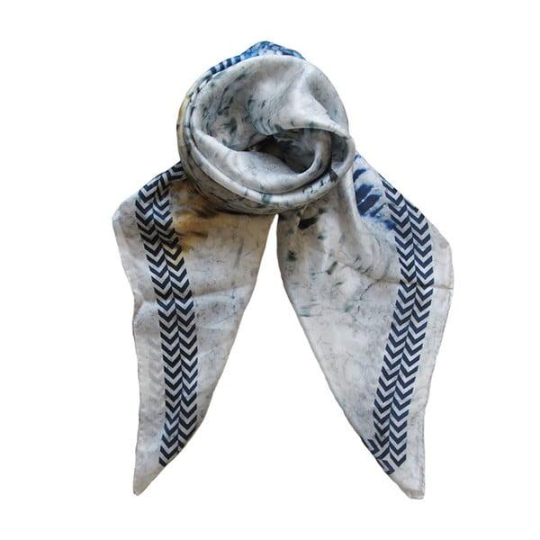 Vlněný šátek s kašmírem Lanima, 130x130 cm