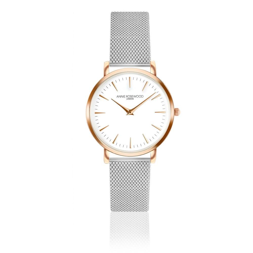 Dámské hodinky snerezovým řemínkem Annie Rosewood Bella Silver