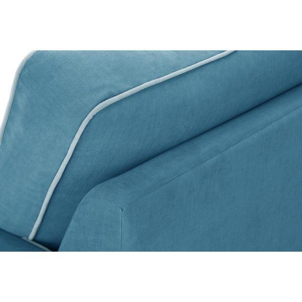 Trojdílná sedací souprava Jalouse Maison Serena, modrá