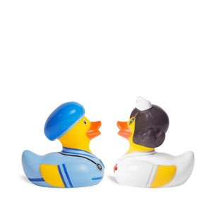 Rățușcă de baie Bud Ducks Doctor & Nurse Mini Deluce