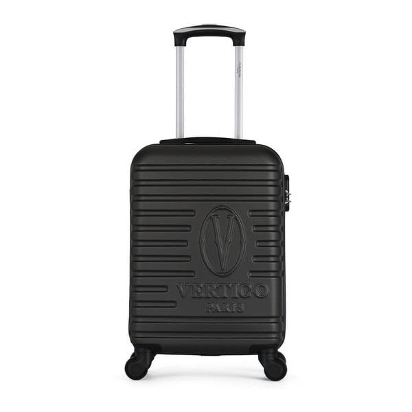Tmavě šedý cestovní kufr na kolečkách VERTIGO Valises Cabine Cadenas